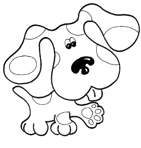 Blues Clues And Magenta Coloring Pages