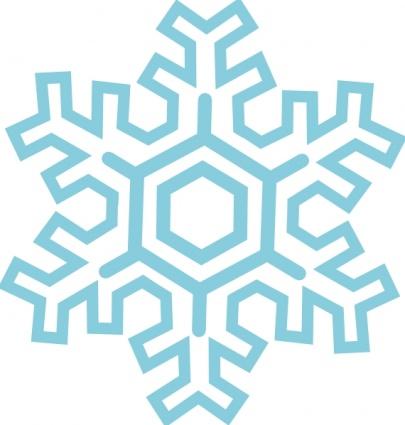 snow flake clip arts