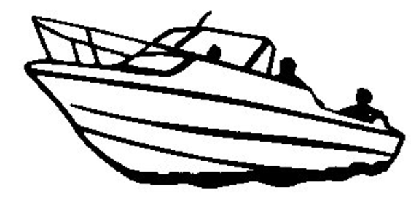 Boat Clipart Black And White Clipart Panda Free