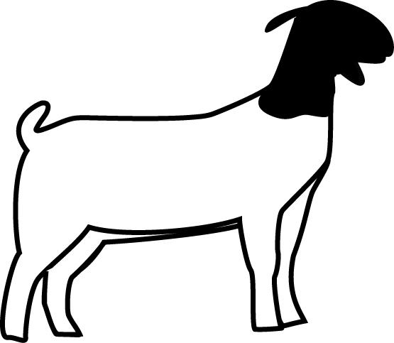 Boer Goat Silhouette | Clipart Panda - Free Clipart Images