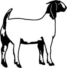 boer goat silhouette clipart panda free clipart images rh clipartpanda com goat clip art free goat clip art free