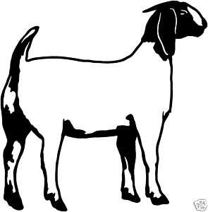 Boer Goat Silhouette | Clipart Panda - Free Clipart Images - photo#10