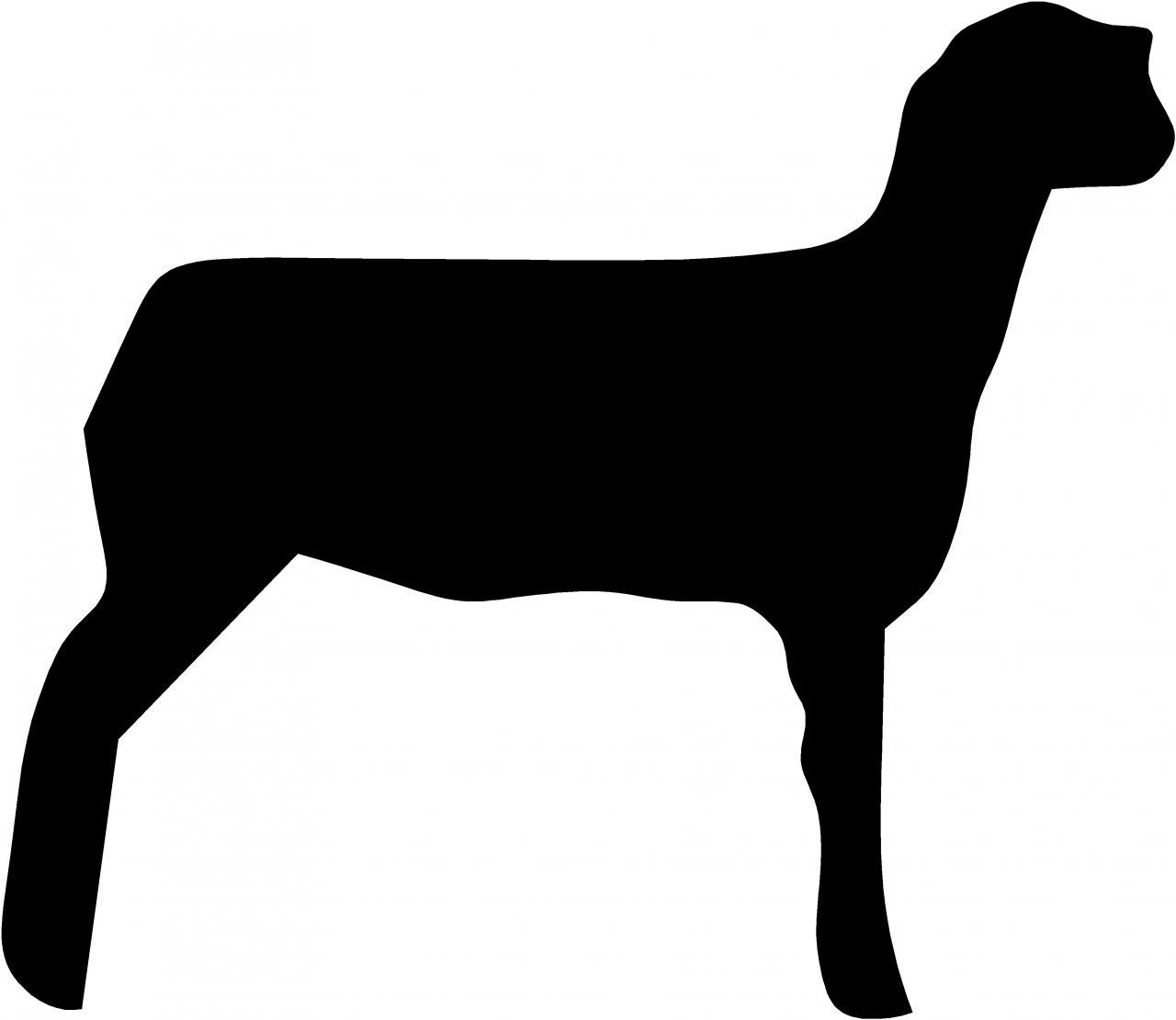 Boer goat clip art