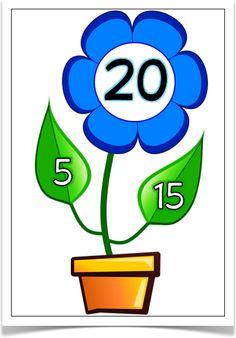 Number Bonds to 20 (Plants)
