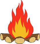 Bonfire Stock Illustrations   Clipart Panda - Free Clipart ...
