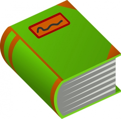 Free Clipart Picture Of A Book