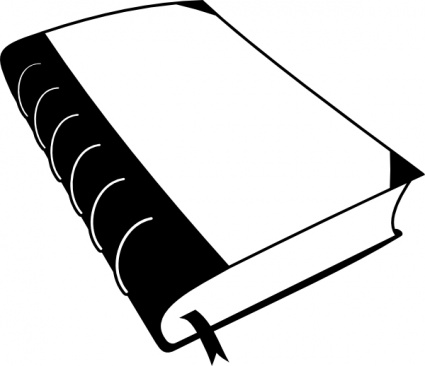 stack of books clipart black and white clipart panda