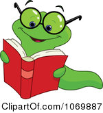 book worm clip art clipart panda free clipart images rh clipartpanda com Free Flower Garden Border Bookworm with Glasses Graphic