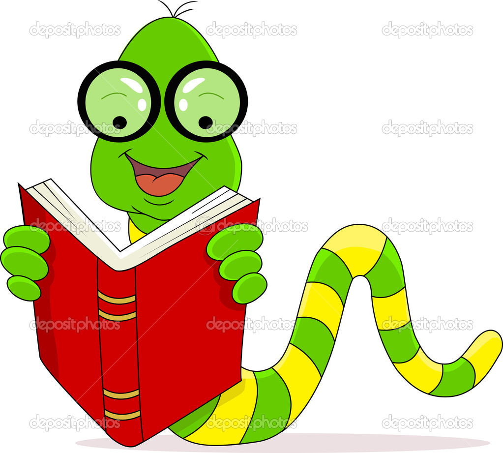 Book Worm Clip Art | Clipart Panda - Free Clipart Images
