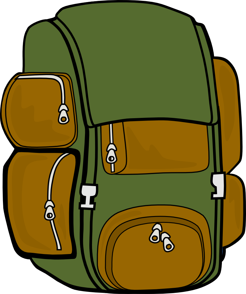 Kid With Backpack Clipart | Clipart Panda - Free Clipart Images