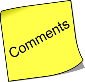 Bookie Clipart Comments Policy