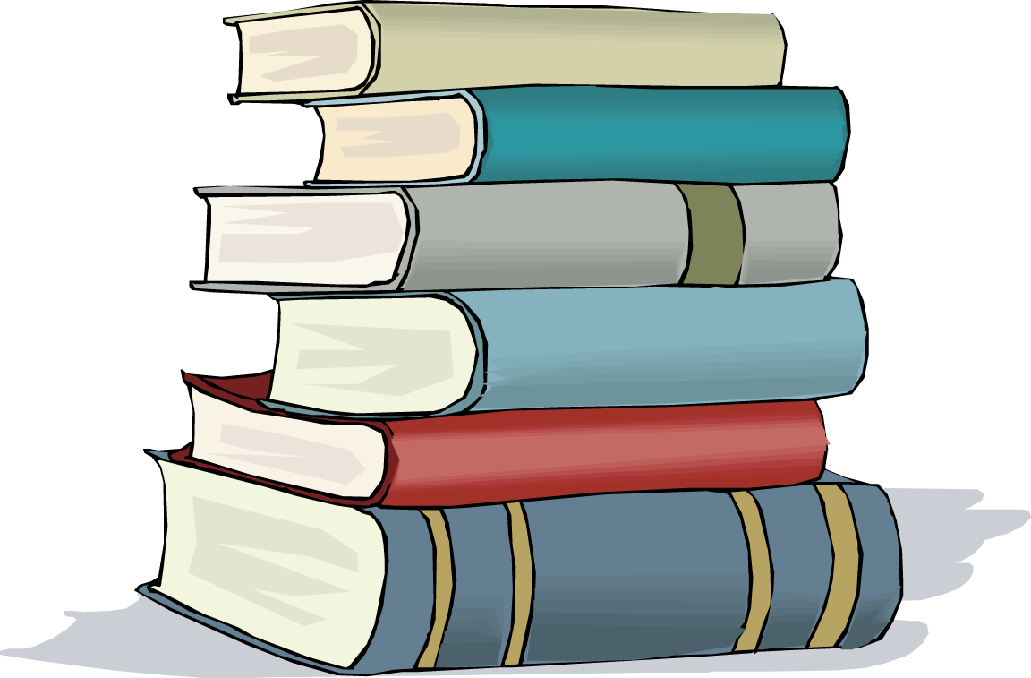 Image result for stack of books clipart png