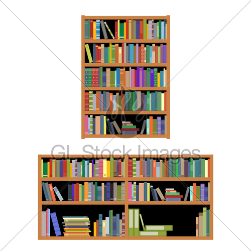 Bookshelf With Books Clipart Panda Free Clipart Images
