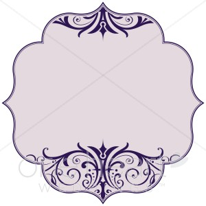 Purple Scroll Bracket Clipart | Clipart Panda - Free Clipart Images