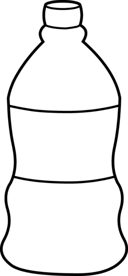 Line Drawing Jug : Water bottle clipart panda free images