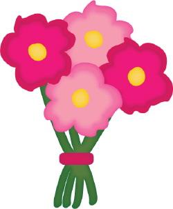 flower bouquet clip art clipart panda free clipart images rh clipartpanda com flower bouquet clipart png flower bouquet clip art free