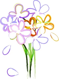 Wedding Bouquet Of Flowers Clipart Clipart Panda Free Clipart Images