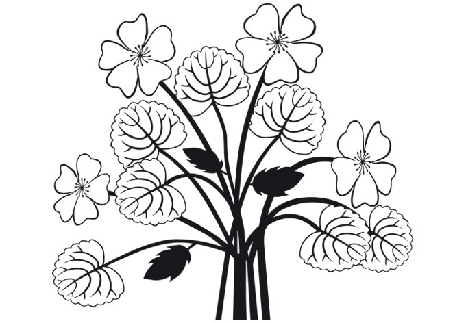 Flower bouquet drawings | Clipart Panda - Free Clipart Images