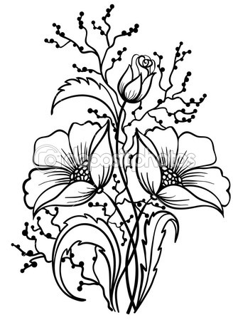 Bouquet Of Flowers Drawing Clipart Panda Free Clipart Images