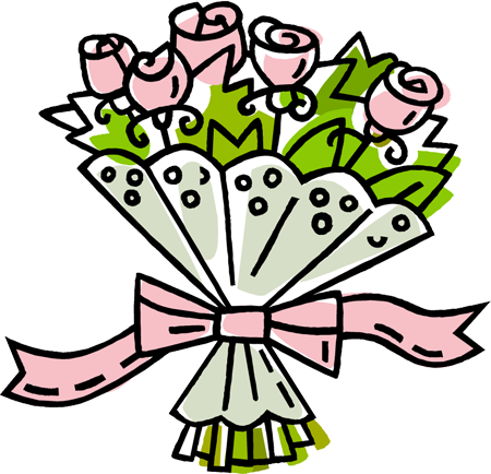 Bouquet Of Roses Clipart | Clipart Panda - Free Clipart Images