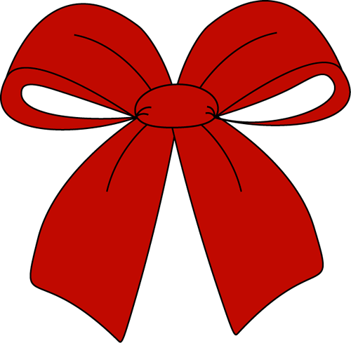 Red Christmas Bow Clip Art | Clipart Panda - Free Clipart Images