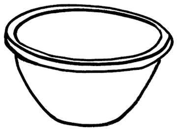 bowl clipart black and white clipart panda free bowl of cereal clipart free Cartoon Cereal Bowl