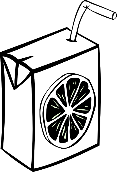 Juice Clipart Black And White | Clipart Panda - Free ...