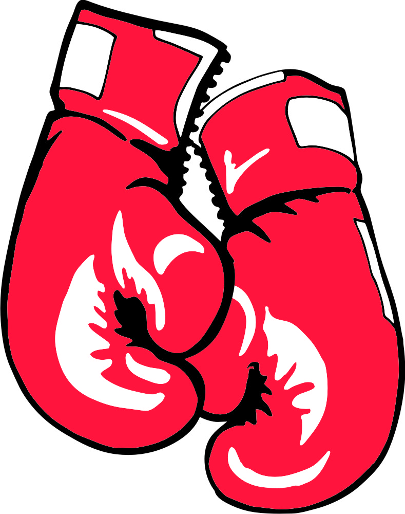 Viewing Gallery For - Boxing Gloves Line Art