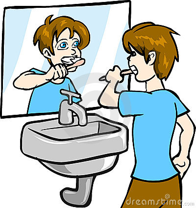 Boy Brushing Teeth Clipart | Clipart Panda - Free Clipart ...