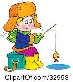 Boy Fishing Clipart | ...