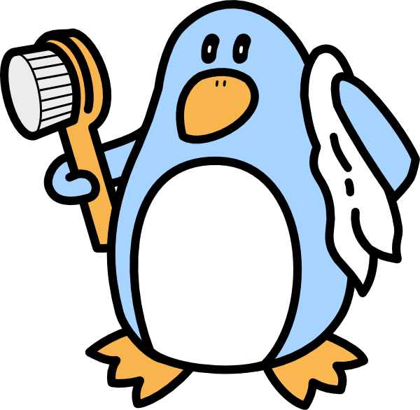 Boy penguin clipart clipart panda free clipart images for Bathing images