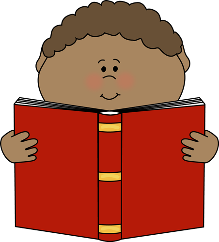 Little Boy Reading a Book Clip | Clipart Panda - Free ...