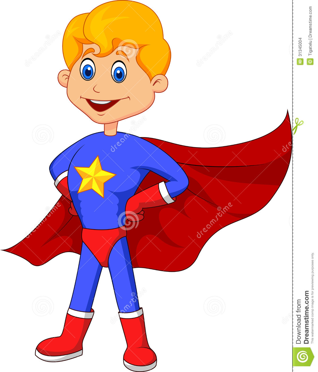 Superhero kid cartoon | Clipart Panda - Free Clipart Images