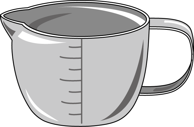 Measuring Cup Of Water Clipart | Clipart Panda - Free ...