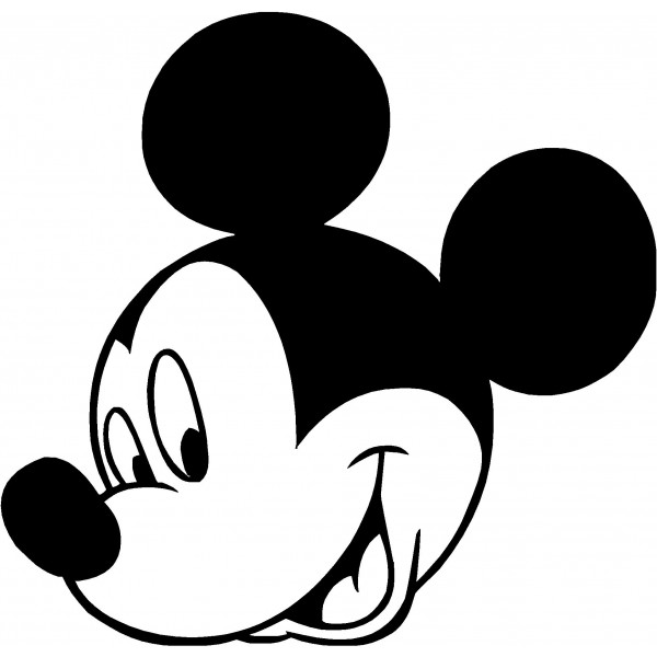 Mickey Mouse Black And White Clipart Mickey Mouse Clipart Black And