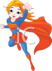 Superhero Girl Clip ArtStrong Girls Clipart