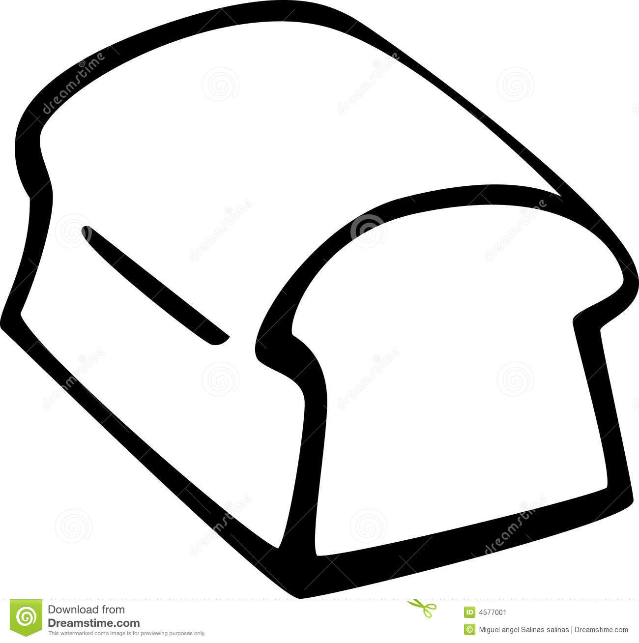 Slice of Bread Clipart Slice of Bread