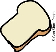 slice of bread clipart 1 clip art vector site u2022 rh beviepro com slice of bread clipart black and white Slice of Bread Outline