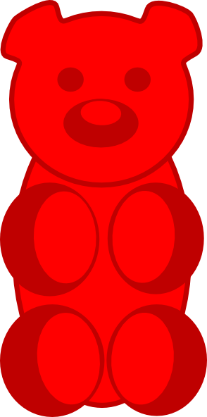Gummy Bear clip art - vector | Clipart Panda - Free Clipart Images