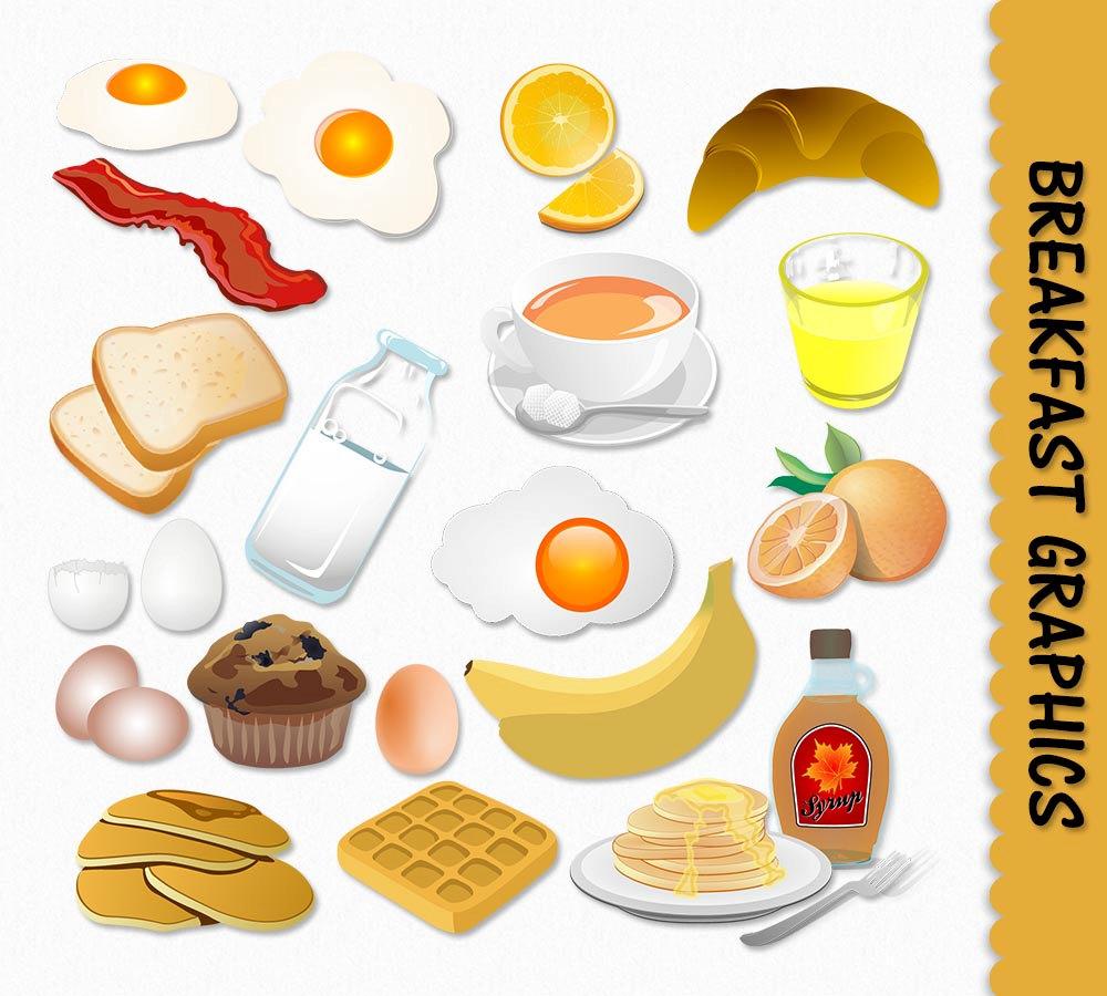 breakfast menu clipart - photo #14