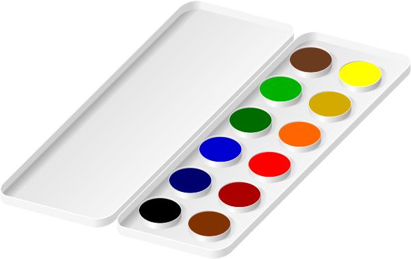 Watercoloring Clip Paint Tools