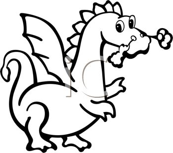 breathing 20clipart Drawings Of Dragons Blowing Fire For Kids