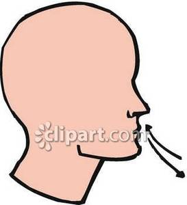 how to stop breathing through mouth