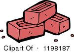 Brick Clipart Pile Of Bricks 1