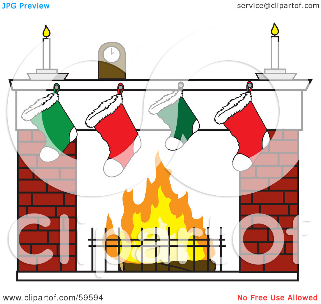 Christmas Tree Fireplace