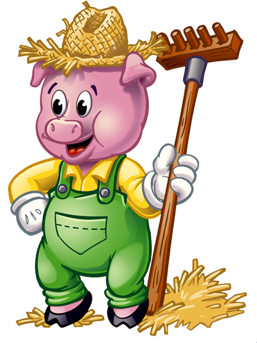 Brick House Three Little Pigs | Clipart Panda - Free Clipart Images