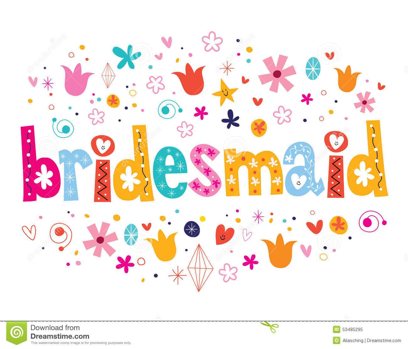 Bridesmaids Clip Art | Clipart Panda - Free Clipart Images