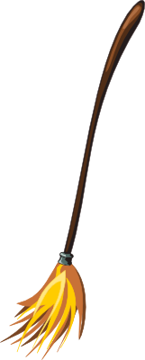 broom-clipart-broom-large pngWitch On Broom Clip Art