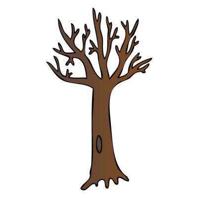 Brown Bare Tree Clipart | Clipart Panda - Free Clipart Images