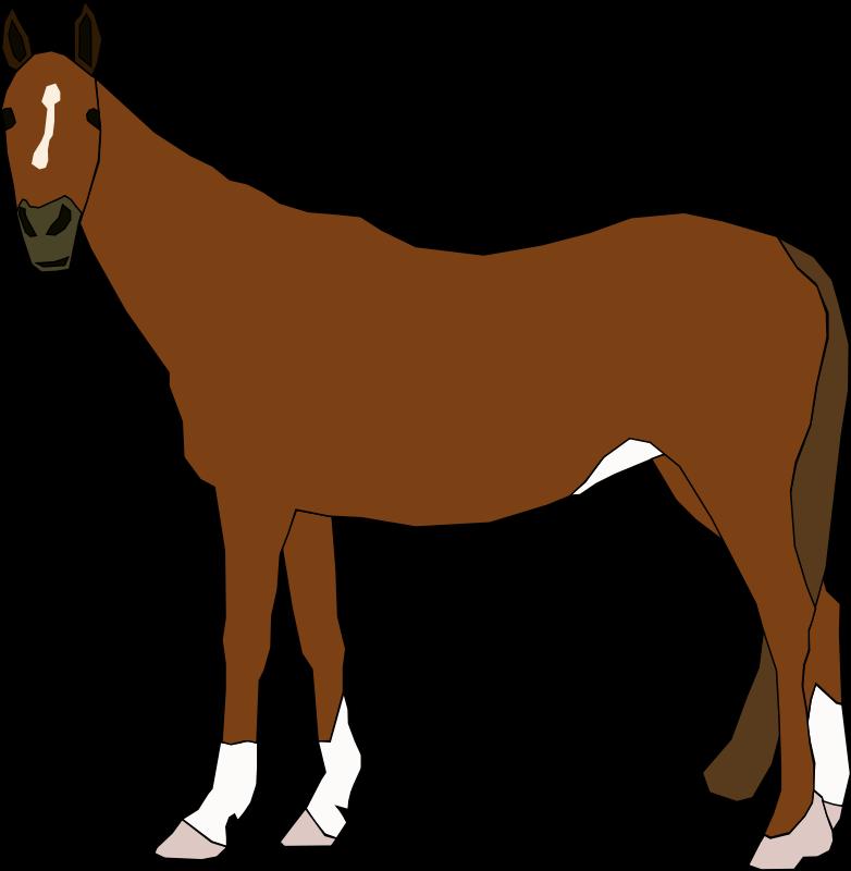 Pics Of Brown Horses - ClipArt